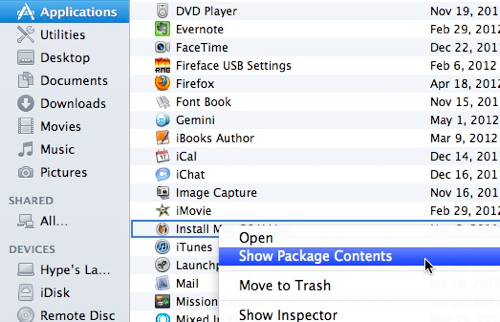 Lion packagecontents