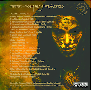 Body Music ReWorked - back copy