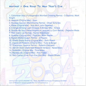 One Hour To New Year's Eve - back copy